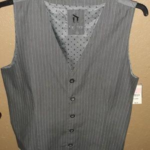NWT Men's Decree Vest Size XL Gray